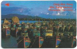 Vietnam - Uniphonekad - Nha Trang Harbour (Tel 08-8231896) - 7UPVF - 40.000ex, Used - Vietnam