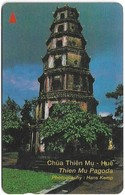 Vietnam - Uniphonekad - Thien Mu Pagoda - 7UPVD - 41.500ex, Used - Vietnam
