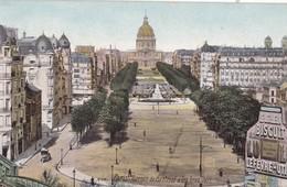 PARIS - Avenue De Breteuil Et Les Invalides - Arrondissement: 15