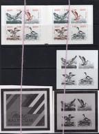 19/5 7/4 Estonie EEsti Estonia Carnet Booklet + Epreuve N/B MNH XX Canards Duck Aigle Eagle Cormoran - Estonie