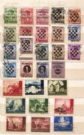 (Fb).Croazia.1941/45.Antica Collezione.Francobolli Nuovi E Usati (6 Scan) (118-15) - Croatie