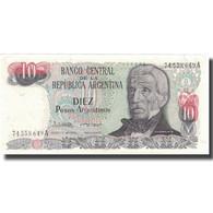 Billet, Argentine, 10 Pesos Argentinos, KM:313a, SUP - Argentina