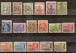 (Fb).Fiume.1919.Serie Completa Di 17 Val Usati.Splendidi (306-15) - 8. Occupazione 1a Guerra