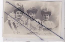 Artistes Italiennes;Rosina Ferro/ Ianne Troupel / Maria Nulli (carte Précurseur De 1905)Fot L. Comerio Milano - Entertainers