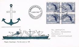 Danemark - Centenaire De L'Eglise Des Marins Danois FDC 477 (année 1967) - FDC