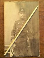 Antieke Foto Op Zwaar Karton Van Onder--Officier  1914---18 - 1914-18