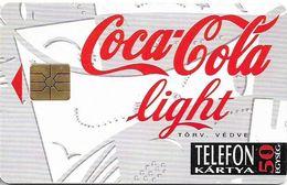 Hungary - Matáv - Coca Cola White (No Transp. Moreno/Red Gem.) 10.94, Used - Ungarn