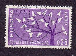 1358 France 1962 Oblitéré  Europa - Used Stamps
