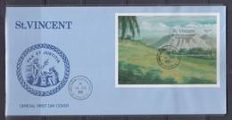 St. Vincent 1995 Volcano FDC - St.Vincent & Grenadines
