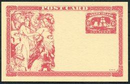 2 X Gerald King Cinderella Snark Island 1d Sailing Ship Stationery Cards - Cinderellas