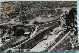 Göschenen, Gotthardtunnel-Eingang, Schöllenenbahn, 1952 - UR Uri