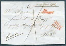 1850 Austria Wien - Horn FRANCO Vorphila - Autriche