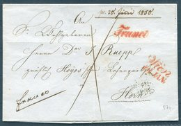 1850 Austria Wien - Horn FRANCO Vorphila - ...-1850 Prephilately