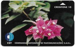 São Tomé And Príncipe - CST - L&G - Flower 1, 708L, 10U, 3.000ex, Used - San Tomé E Principe