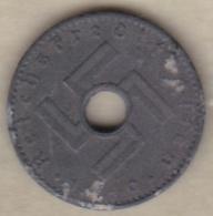ALLEMAGNE. 5 REICHSPFENNIG 1940 A. Type Troué. ZINC - [ 4] 1933-1945 : Troisième Reich