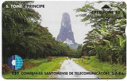 São Tomé And Príncipe - CST - L&G - Mountain, 806L, 20U, 6.000ex, Used - São Tomé Und Príncipe