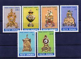 RUMANIA / ROMANIA / ROEMENIE  Año 1988 Yvert Nr. 3798/03 Nueva Relojes - 1948-.... Repúblicas