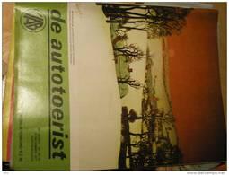 De Autotoerist 30e Jaar Nr 25-26 22/12/1977 Antwerpen Verkeersvoorschriften Oostenrijk Rally Haspengouw Pistoia Orgel - Magazines & Newspapers