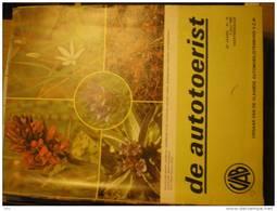 Autotoerist 33e Jaar Nr 15 7/7/1980 Beschermde Planten Orchis Boechout Bouchout Meise Vlas Kontich Schiphol Waarschoot - Magazines & Newspapers