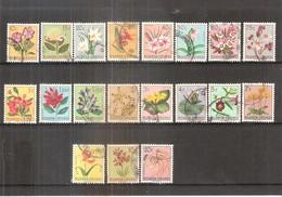 Ruanda-Urundi - Fleurs - 177/95 - Série Complète - Obl/gest/used - Ruanda-Urundi