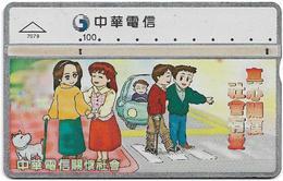 Taiwan - Chunghwa Telecom - L&G - Pay Attention - 719E - 1997, 100U, Used - Taiwan (Formosa)