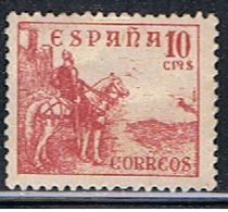 (1E 21) ESPAÑA // YVERT 579 A // EDIFIL 818   // 1937 - 1931-Today: 2nd Rep - ... Juan Carlos I