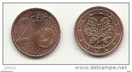 2 Cent, 2013, Prägestätte (A) Vz, Sehr Gut Erhaltene Umlaufmünze - Germania
