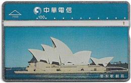 Taiwan - Chunghwa Telecom - L&G - Sydney Opera House - 734L - 1997, 100U, Used - Taiwan (Formosa)