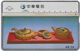 Taiwan - Chunghwa Telecom - L&G - Tea Set 1 - 670G - 1997, 100U, Used - Taiwan (Formosa)