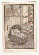 Geboortekaartje Faire Part Naissance Ann Duffel 1964 (Spruyt De Buyzer De Laet Van Den Eynde )  Anton Pieck 9026 - Birth & Baptism