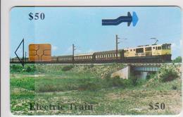 #09 - ZIMBABWE-01 - ELECTRIC TRAIN - Zimbabwe