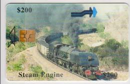 #09 - ZIMBABWE-02 - TRAIN - STEAM ENGINE - Zimbabwe