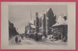 44 - SAINT JULIEN DE VOUVANTES---Eglise Sous La Neige - Saint Julien De Vouvantes