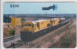 #09 - ZIMBABWE-03 - DIESEL TRAIN - Zimbabwe