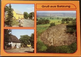 Ak DDR - Satzung - Ortsansichten - Marienberg