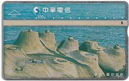 Taiwan - Chunghwa Telecom - L&G - Wonderful Stone 4/4 - 817K - 1997, 100U, Used - Taiwan (Formosa)