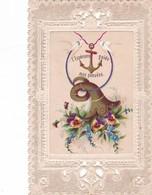 I MAGE RELIGIEUSE ,,,,1879 ,,,,CANIVET ,,,L'  ESPERANCE  GUIDE NOS PENSEES ,,,TBE, - Images Religieuses