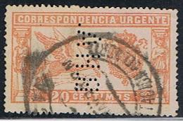 (1E 6) ESPAÑA // YVERT EXPRES 1 // EDIFIL 256 (PERFIN: BHA) // 1905 - 1889-1931 Royaume: Alphonse XIII