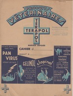PROTEGE-CAHIER  PRODUITS VETERINAIRES TERAPOL - Chemist's