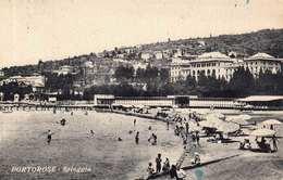PORTOROSE - Spiaggia 1935, Stempel Piran - Slowenien