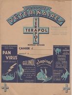 PROTEGE-CAHIER  PRODUITS VETERINAIRES TERAPOL - Produits Pharmaceutiques