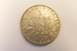 1 Franc 1903 Rare - France
