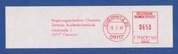 BRD AFS - CHEMNITZ, Regierungspräsidium Chemnitz - Zentrale Ausländerbehörde 1997 - Poststempel - Freistempel