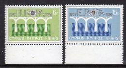 CYPRUS - 1984 EUROPA CEPT SET (2V) FINE MNH ** SG 632-633 - Unused Stamps