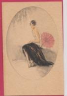 ILLUSTRATEUR---BIANCHI----Femme Avec Ombrelle - Illustrateurs & Photographes