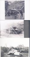 18 Zerstörte Pz. V (Panther): Celles (Belgien) 1945, Normandie Und Paris (1944). Repros - Vehicles