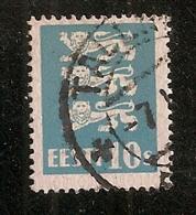 ESTONIE    N°  102  OBLITERE - Estonie