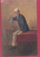 ILLUSTRATEUR---MUHLBERG----Homme Avec Une Chope De Biere-Prosit - Illustrators & Photographers