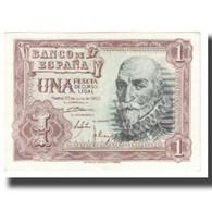 Billet, Espagne, 1 Peseta, 1953, 1953-07-22, KM:144a, SPL - [ 3] 1936-1975 : Régence De Franco