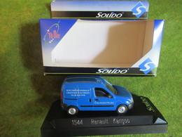 Miniature RENAULT Kangoo 1/43è SOLIDO Publicitaire Ent. ASSISTELEC Varennes-Changy Loiret - Other